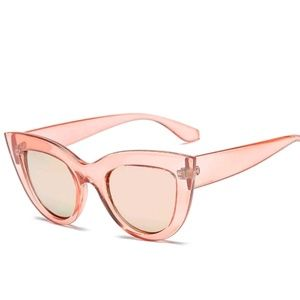 FINAL PRICE  pink CATS EYE ROCKABILLY SUNGLASSES